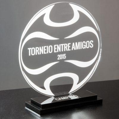 Troféu de Futebol em Acrílico | Top Troféus