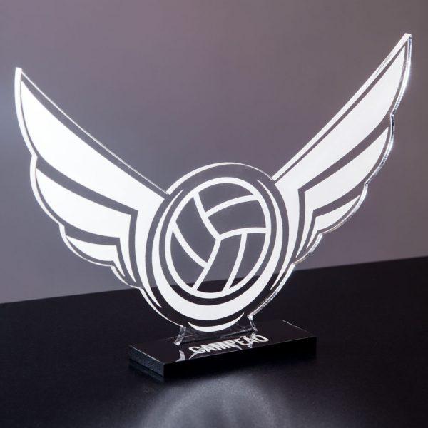 Troféu de Vôlei em acrílico | Top Troféus