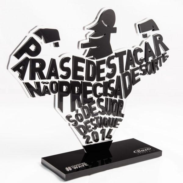 Troféu Destaque de Academia | Top Troféus