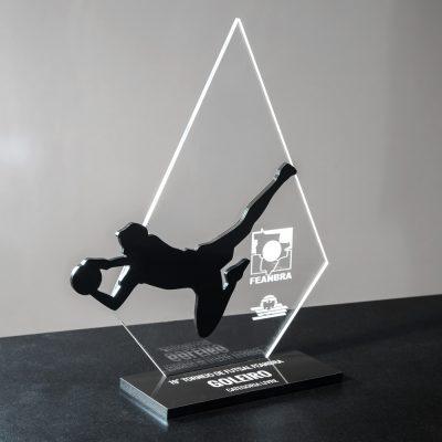 Troféu de Goleiro Menos Vazado - Futebol | Top Troféus