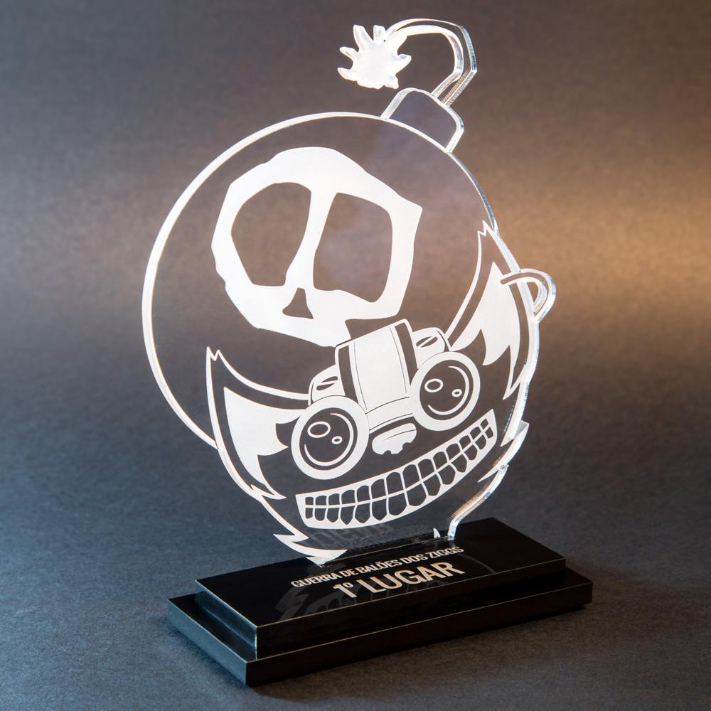 Troféu Ziggs - League of Legends | Top Troféus