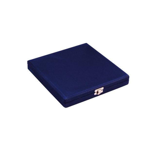 Estojo de Placa Comemorativa Azul Fechada 18x18 cm / 14x14 cm| TOPTROFÉUS