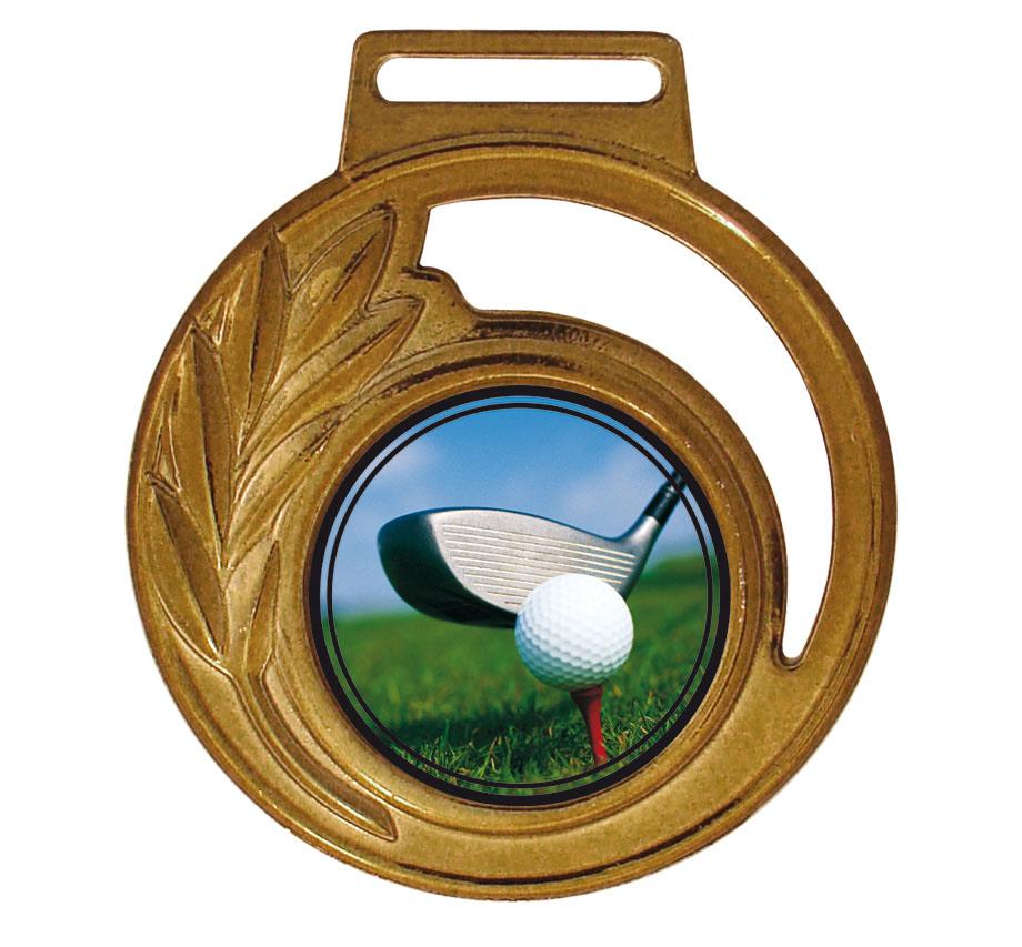 Medalha 06 bronze Adesivo | TOPTROFÉUS