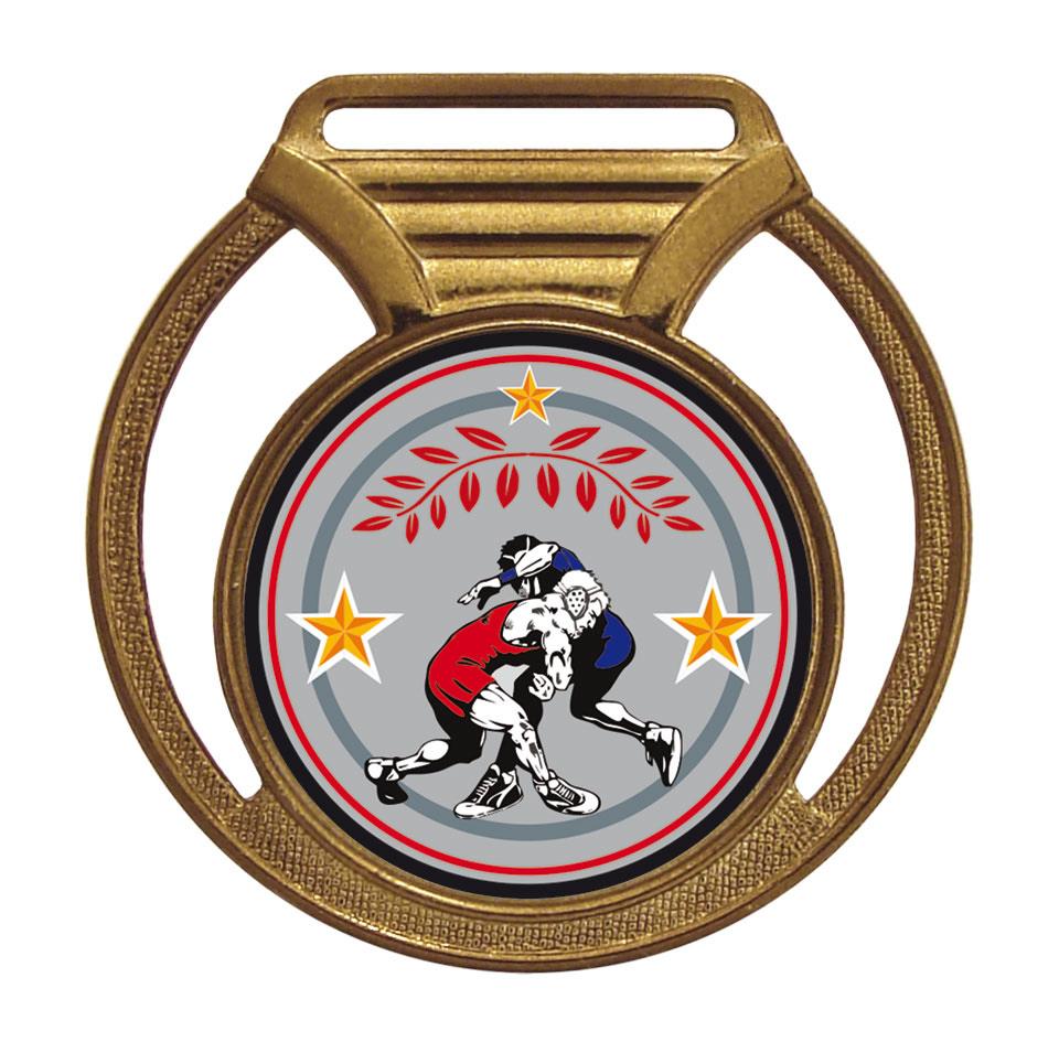 Medalha 11 bronze Adesivo   TOPTROFÉUS