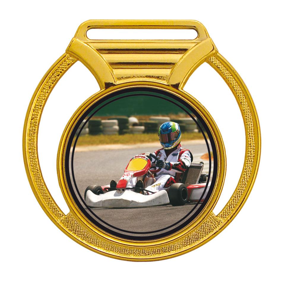 Medalha 11 ouro Adesivo   TOPTROFÉUS