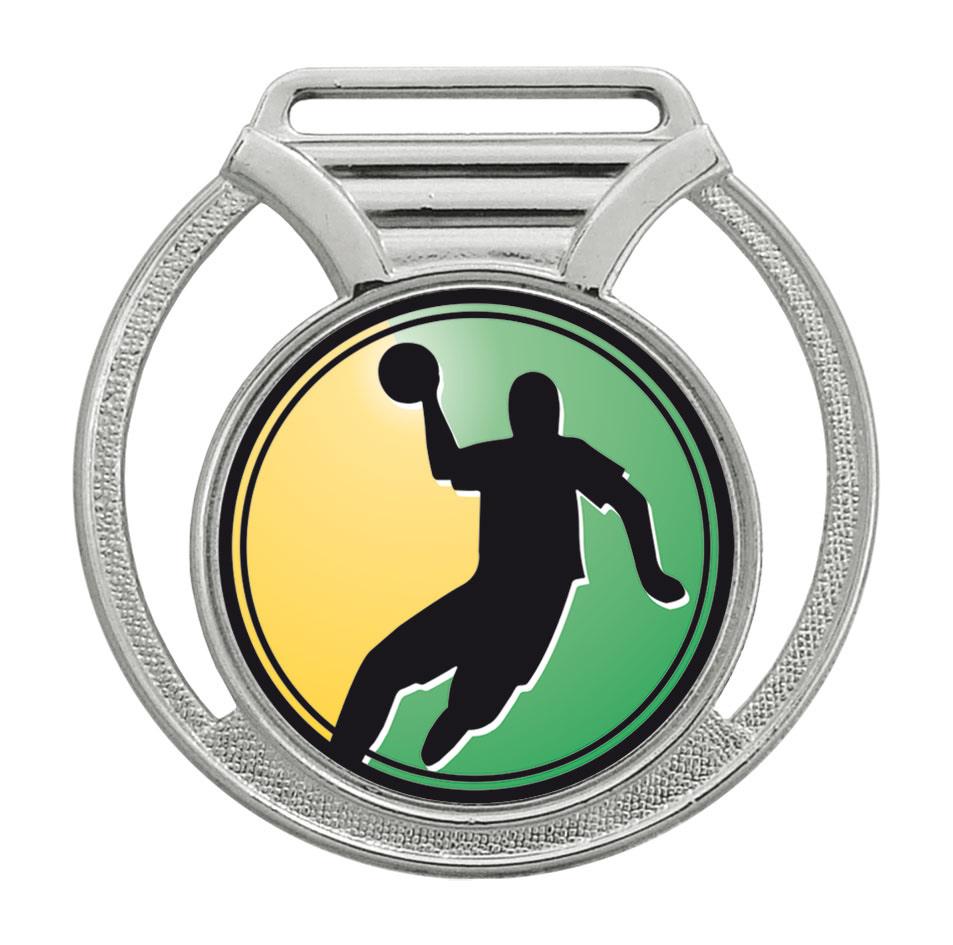 Medalha 11 prata Adesivo   TOPTROFÉUS