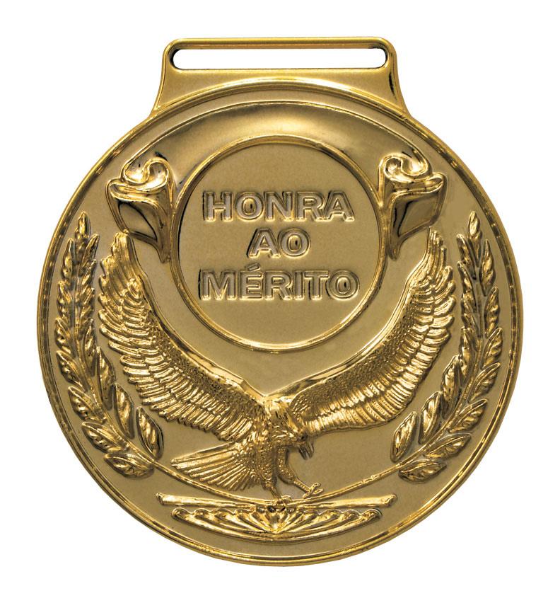Medalha 04 bronze Honra ao Mérito   TOPTROFÉUS