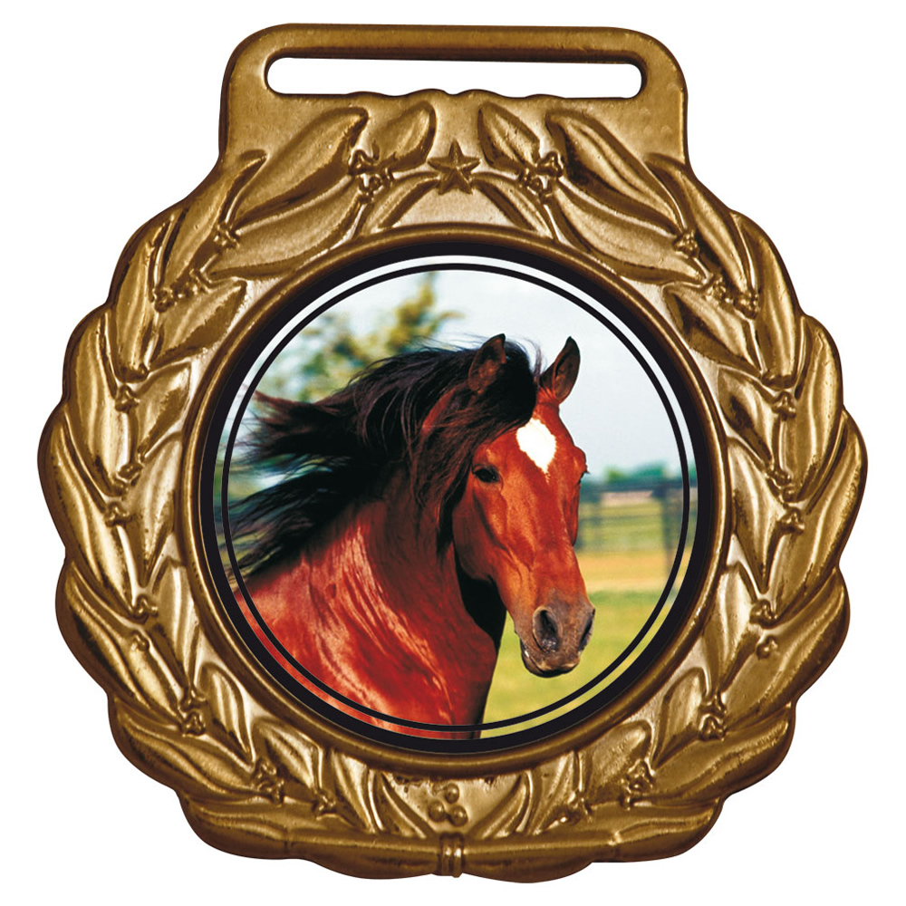 Medalha 07 bronze Adesivo   TOPTROFÉUS