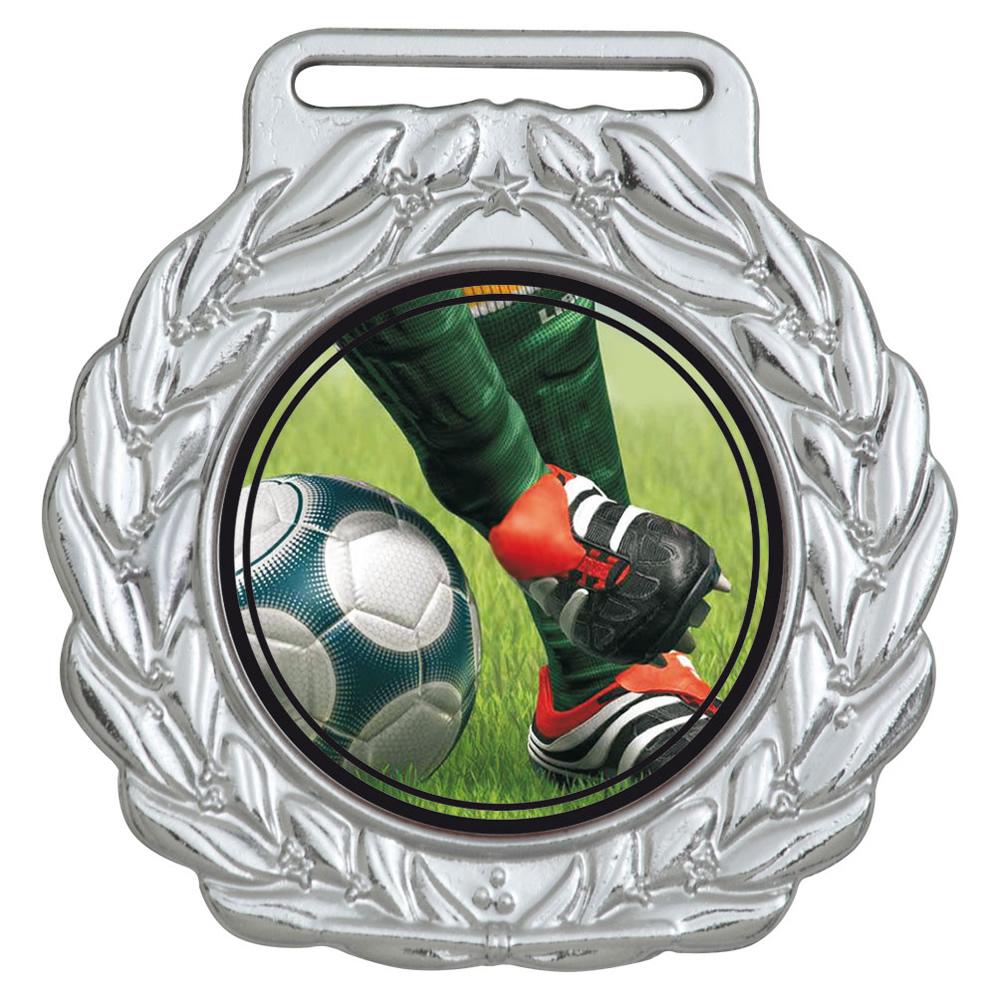 Medalha 07 prata Adesivo   TOPTROFÉUS