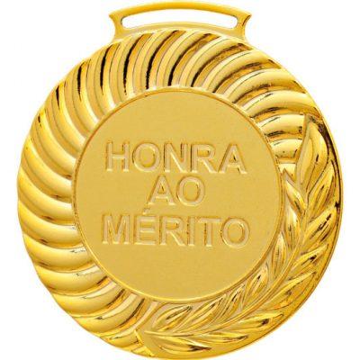 Medalha HM ouro Honra ao Mérito | TOPTROFÉUS