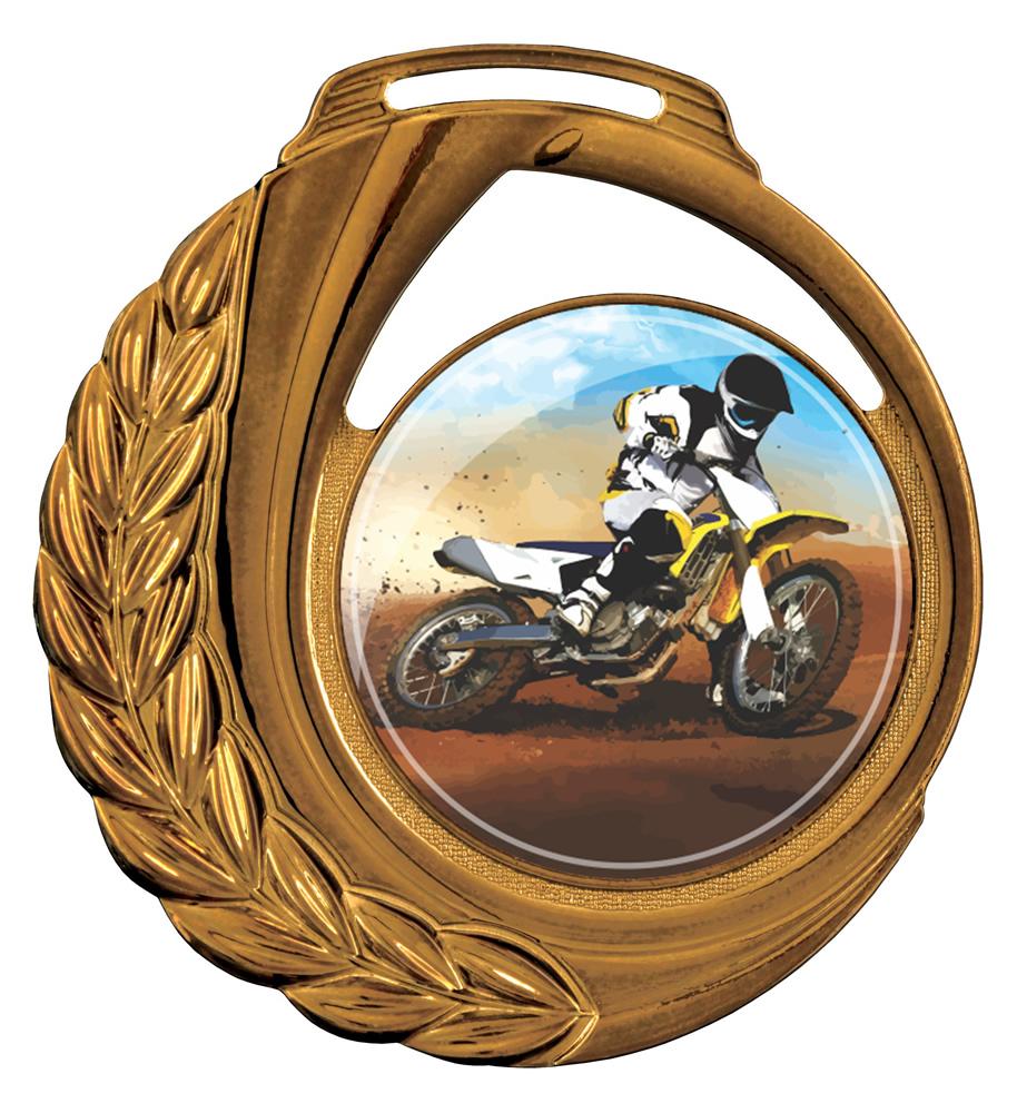 Medalha 13 bronze Adesivo   TOPTROFÉUS