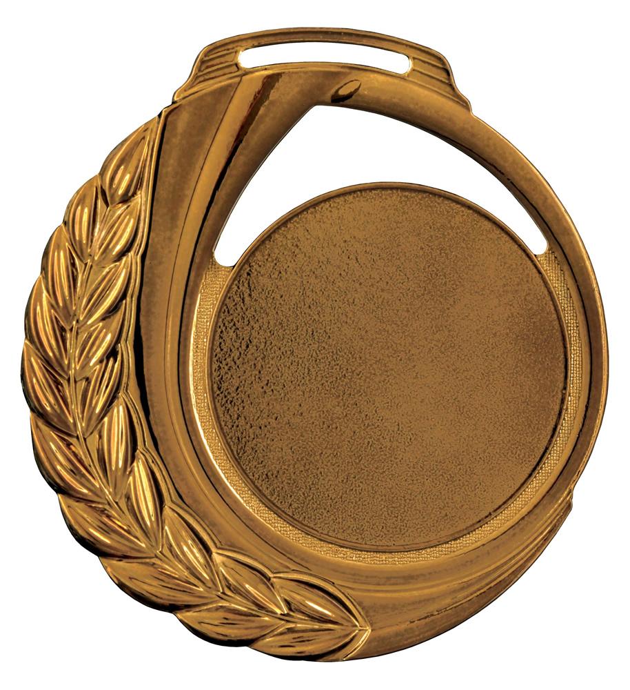 Medalha 13 bronze lisa   TOPTROFÉUS