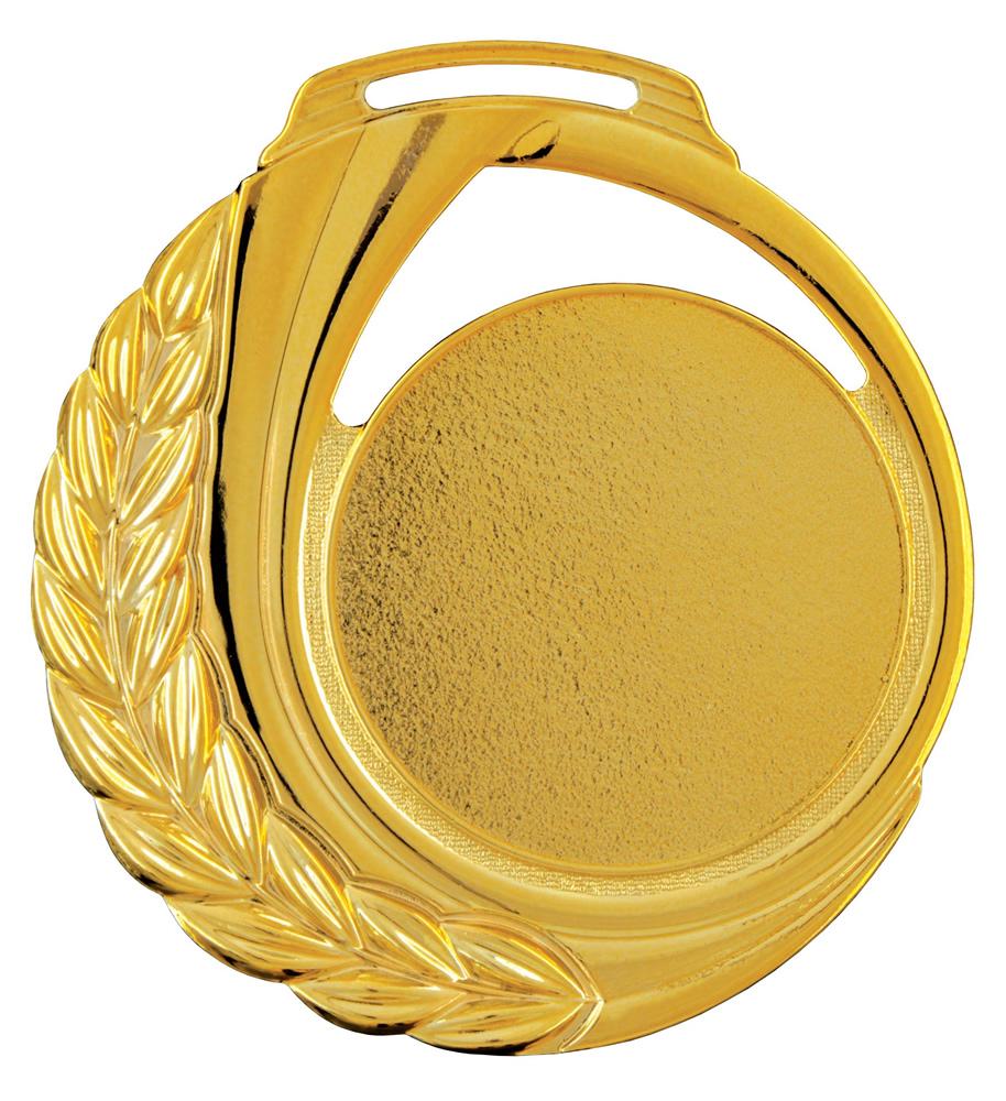 Medalha 13 ouro lisa   TOPTROFÉUS
