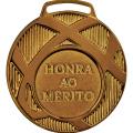 Medalha Bronze Honra ao Mérito | TOPTROFÉUS
