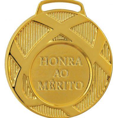 Medalha Ouro Honra ao Mérito | TOPTROFÉUS