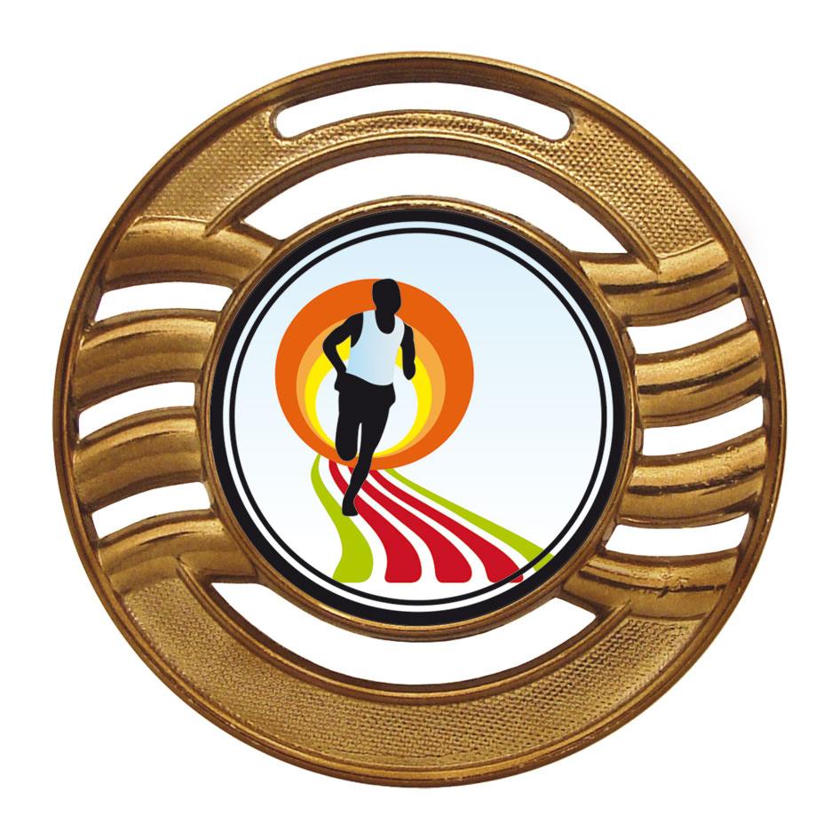 Medalha 12 bronze Adesivo | TOPTROFÉUS