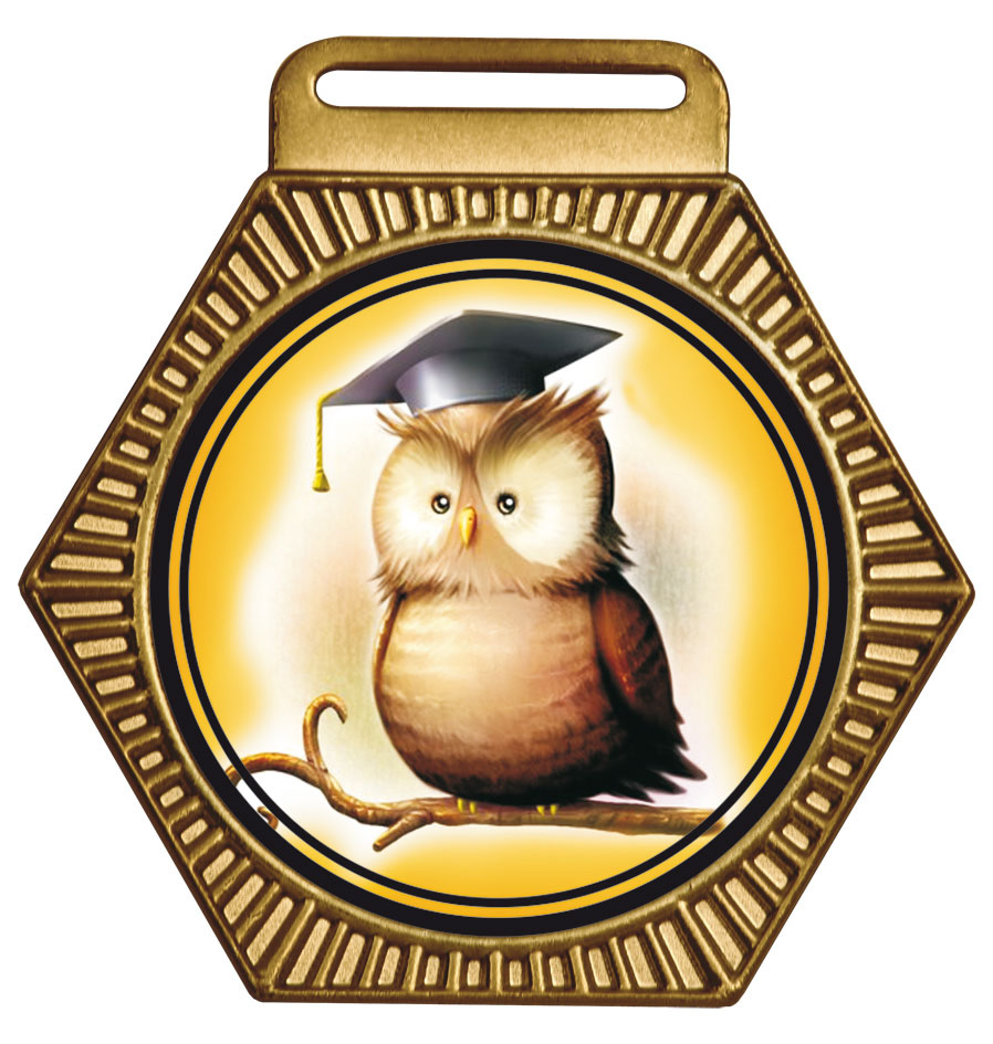 Medalha 15 bronze Adesivo | TOPTROFÉUS