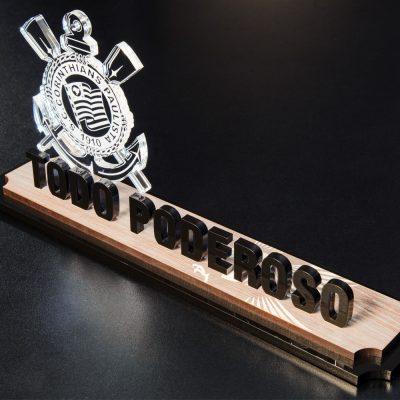 Placa-Corinthians -acrilico-madeira -top-trofeus-personalizados-v4