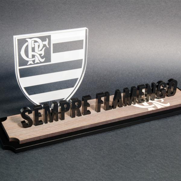 Placa-Flamengo-acrilico-madeira -top-trofeus-personalizados-v2