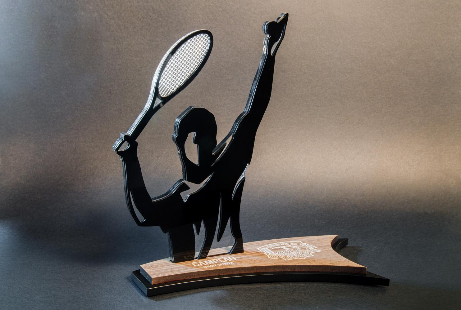 Troféu de Tenis | TOPTROFÉUS