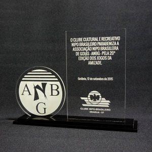 Placa de Homenagem Nipo ANBG – COR0021