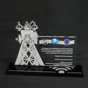 Placa de Homenagem Sinttel-DF – COR0022
