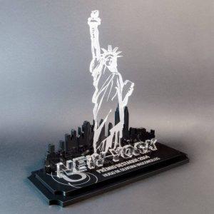 Troféu Estátua Liberdade New York – COR0004