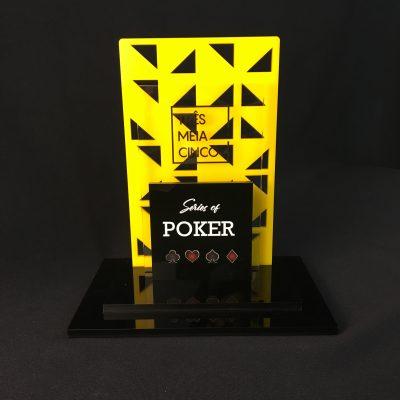 Troféu de Poker - 365 Series of Poker | Top Troféus - Brasília - DF